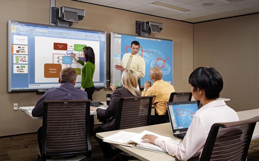 Презентационное оборудование, интерактивная доска