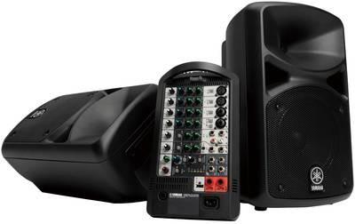 Звукоусилительный комплект YAMAHA STAGEPAS400i1M