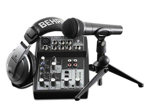 Набор для цифровой звукозаписи BEHRINGER PODCASTUDIO USB