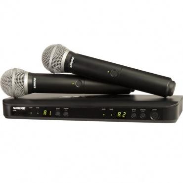 Радиосистема SHURE BLX288E/PG58 K3E 606-638 MHz