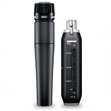 Инструментальный микрофон SHURE SM57-X2U