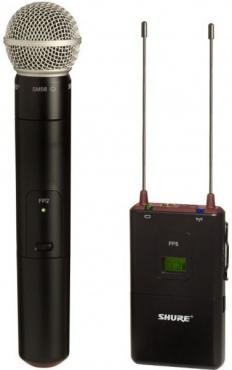 Радиосистема SHURE FP25/SM58 L4E 638 - 662 MHz
