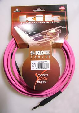 Инструментальный кабель KLOTZ KIK6,0PPPI