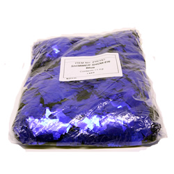Конфетти LE MAITRE 1709 BLUE GLITTER 1кг