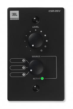 Настенный контроллер JBL CSR-3SV-BLK