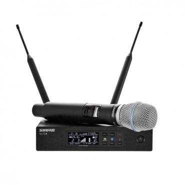 Вокальная радиосистема SHURE QLXD24E/B87C K51 606 - 670 MHz