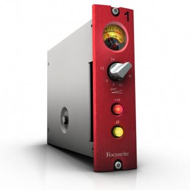 Микрофонный предусилитель FOCUSRITE Red1 500 Series