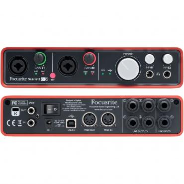 USB аудио интерфейс FOCUSRITE Scarlett 6i6