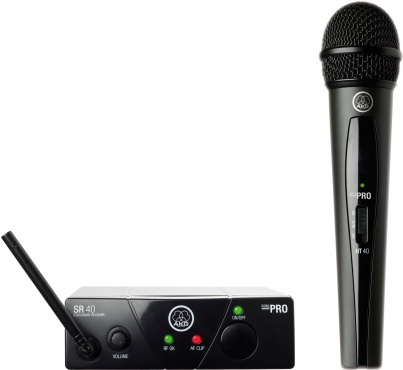 Вокальная радиосистема AKG WMS40 Mini Vocal Set BD ISM3 (864.850)