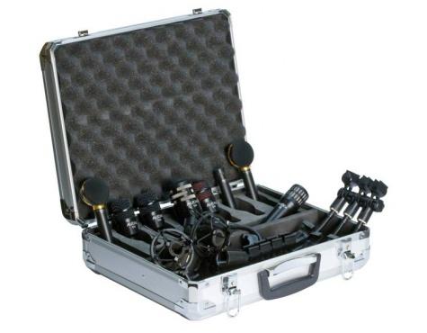 Комплект микрофонов для ударных AUDIX Studio Elite 8