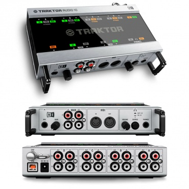 Система DVS для DJ Native Instruments Traktor Scratch A10