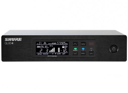 Портативный приёмник SHURE QLXD4E K51 606 - 670 MHz