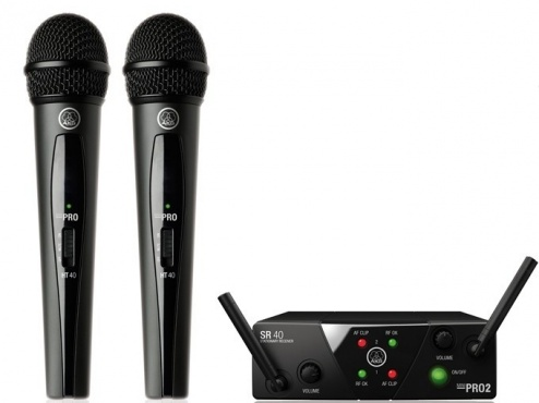 Радиосистема AKG WMS40 Mini2 Vocal Set BD US45A/C