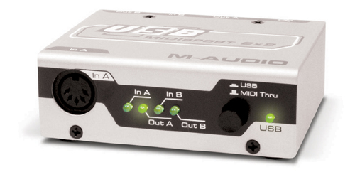MIDI-интерфейс M-Audio MidiSport 2x2 USB