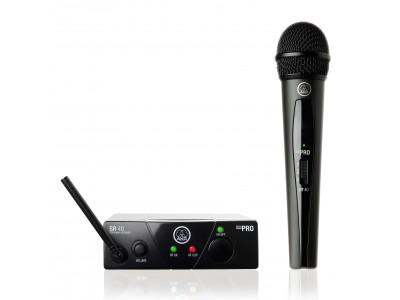 Вокальная радиосистема AKG WMS40 Mini Vocal Set BD US45B (661.100) - вокальная радиосистема с примником SR40 Mini и руч. п