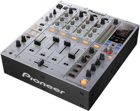 Микшерный пульт PIONEER DJM-750 серебристый