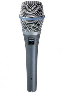 Конденсаторный микрофон SHURE BETA 87C