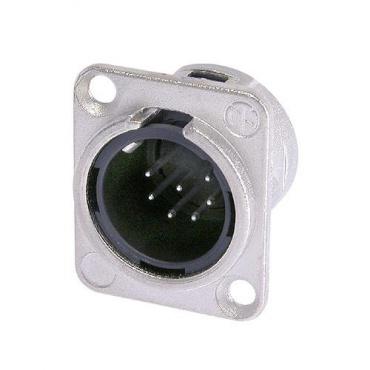 Панельный разъем XLR Neutrik NC7MD-L-1