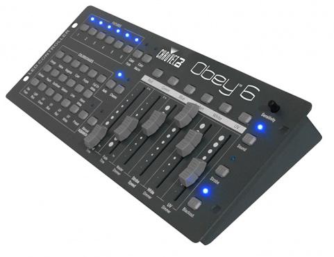 Контроллер для RGBAWUV-приборов CHAUVET-DJ Obey 6
