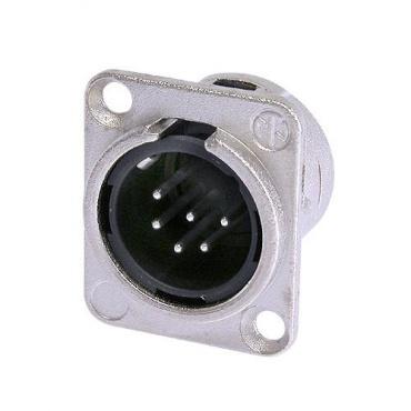 Панельный разъем XLR Neutrik NC6MD-L-1