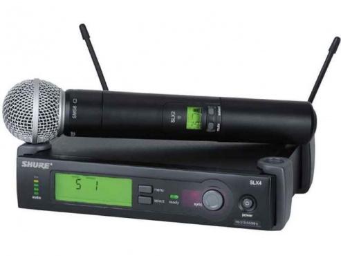 Радиосистема SHURE SLX24E/58 L4E 638 - 662 MHz