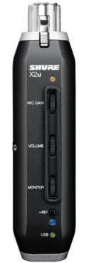 Адаптер для подключения микрофонов к ПК SHURE X2U XLR-to-USB
