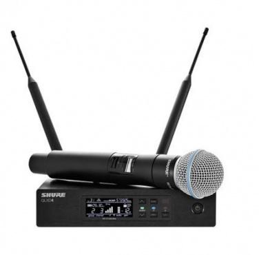 Вокальная радиосистема SHURE QLXD24E/B58 K51 606 - 670 MHz