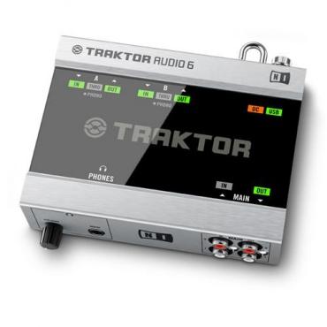 Система DVS для DJ Native Instruments Traktor Scratch A6