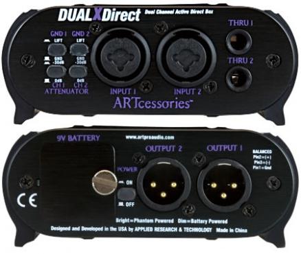 Директ-бокс ART DualXDirect