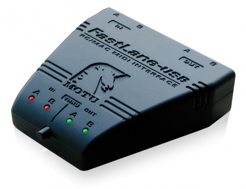 MIDI интерфейс MOTU FastLine USB