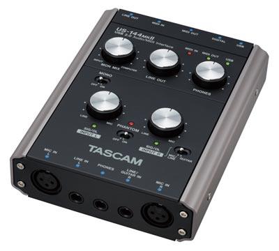 USB аудио/MIDI интерфейсTASCAM US-144MK2