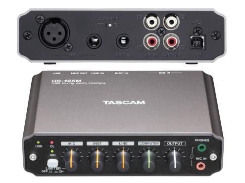 USB аудио интерфейс TASCAM US-125M