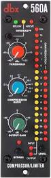 Компрессор-лимитер DBX 560A
