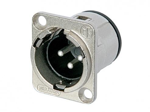 Панельный разъем XLR Neutrik NC3MD-V