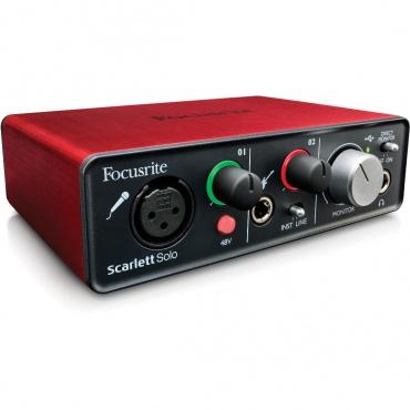 USB аудио интерфейс FOCUSRITE Scarlett Solo