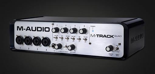 USB аудио интерфейс M-Audio MTrack Quad