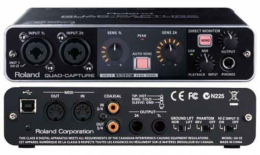Аудиоинтерфейс ROLAND UA-55