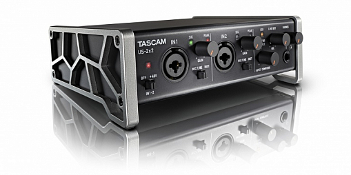 USB аудио/MIDI интерфейс TASCAM US-2x2