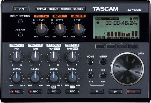 Цифровая портастудия TASCAM DP-006
