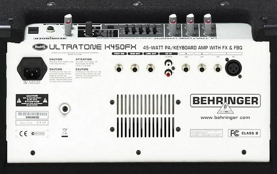 Клавишный комбо BEHRINGER K450FX