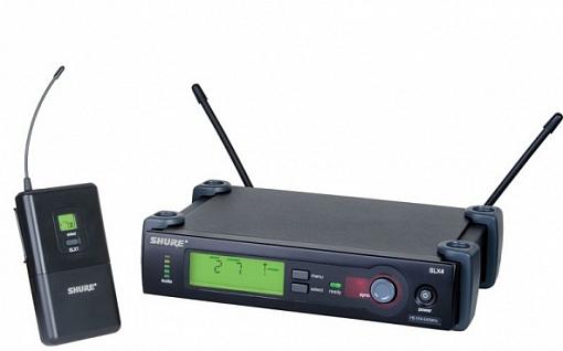 Радиосистема SHURE SLX14E L4E 638 - 662 MHz