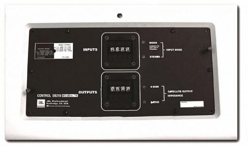 Пассивный кроссовер JBL MTC-SB210-SAT
