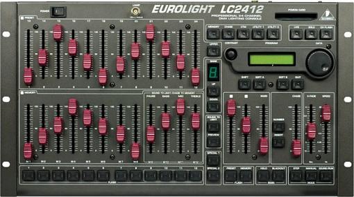 Пульт управления светом BEHRINGER LC2412