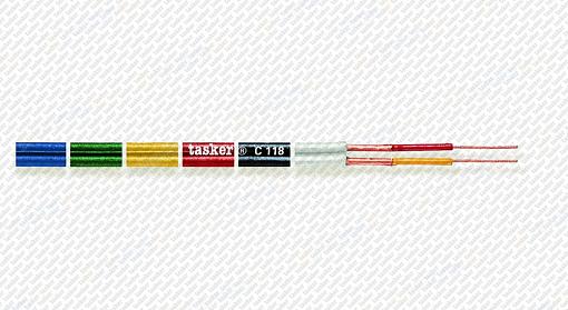 Стерео аудио кабель Tasker C118-GREEN