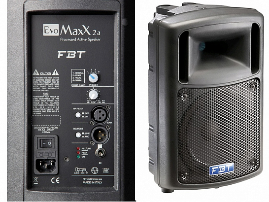Активная акустическая система FBT EVOMaxX 4A