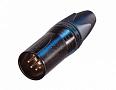 Кабельный разъем XLR Neutrik NC5MXX-B