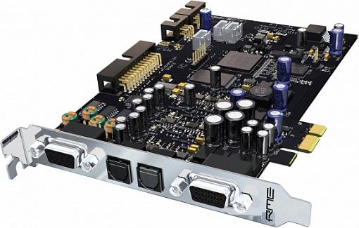 Аудио интерфейс RME HDSPe AIO