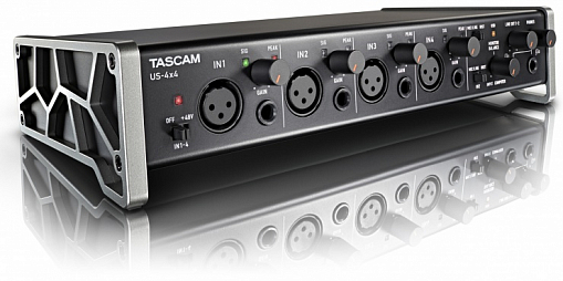 USB аудио/MIDI интерфейс TASCAM US-4x4