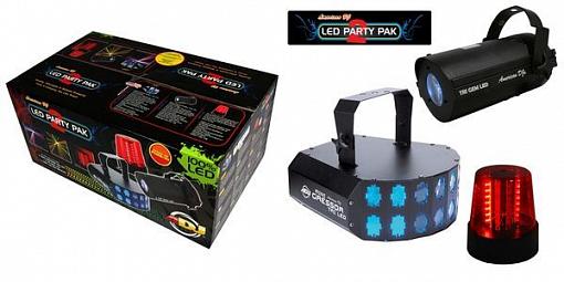 Комплект светодиодных приборов American DJ LED Party Pak 2