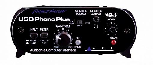 USB аудио интерфейс ART USB PhonoPlus Project Series